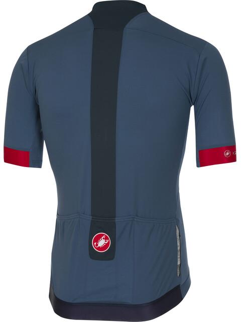 Castelli Forza Pro Jersey Men light steel/blue